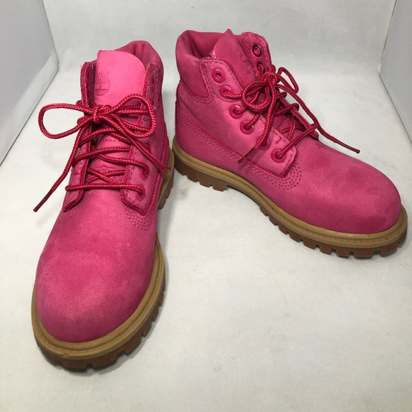 "Timberland Other - Timberland 6"" Classic Boot - Big Kid Pink 6 female"